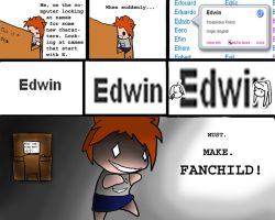 E is for Edwin by HimeHeishi