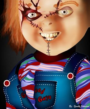 Chucky Doll by itaocta