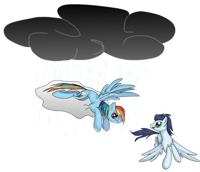Rainbow Dash and Soarin by kachna9