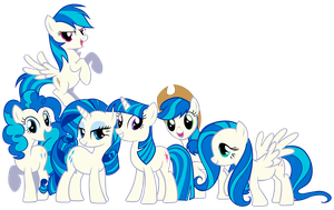 My Little Vinyl Scratch by Shadowhedgiefan91