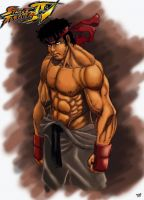 Ryu Sketch COLORS UPDATED by JeanSinclairArts