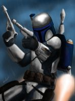 Jango Fett by superhermit