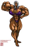 Urd Bodybuilder Coloured by muscle82002