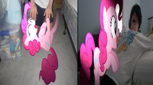 Tickle time with Pinkie Pie by MetalGriffen69