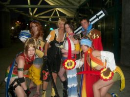 AX10: Final Fantasy X+2 Group by Sonicbandicoot