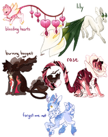 Flowers Adopts - OPEN by Jaysadoptable