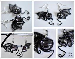 Darkling Earrings by XenOhm