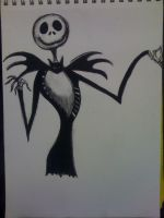 Jack Skellington by cehavard90