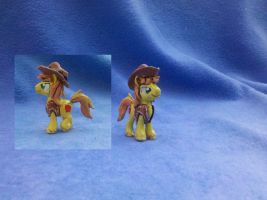 My Little Pony FiM custom blindbag: Braeburn by vulpinedesigns