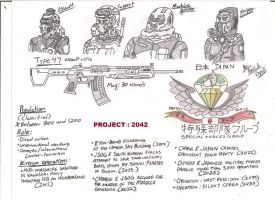 Japan : Special Forces Group 2042 by BlackKnife12