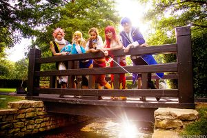 Fairy Tail Bridge Cosplay by firecloak