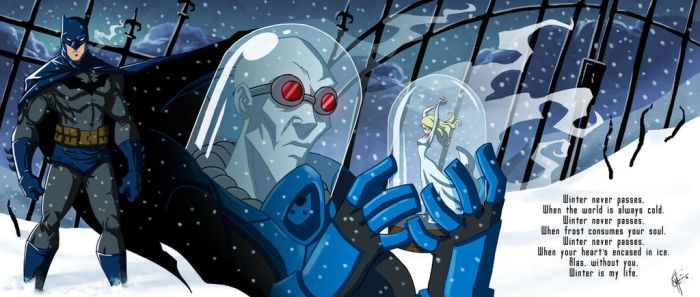Arkham Portrait: Mr. Freeze by jeftoon01