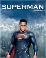 Michael Ealy Superman by PZNS