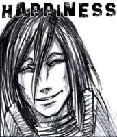Orochimaru: happiness by jesterry