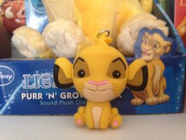 Lion King 3D Simba Keyring by LittleRolox3