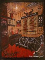 Slipknot Room by KylieRussell666