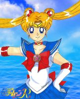 Sailor Moon by the Sea by Magical-Mama