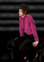 Michael Jackson color socks by szucia