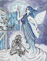 Blue - The Fairy with the Azure Hair by The-Darkwolf