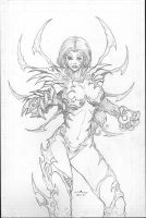 the Witchblade by c-crain