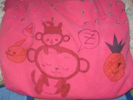 My pink front bag by HellSiNLordZ
