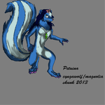 Adult/Werewolf Petuina (resized version) by cyngawolf