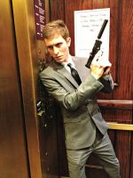 James Bond: Elevator Action2 by CptTroyHandsome