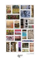 Vancouver Street Graffiti Print by CabalSeven