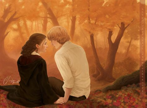 Autumn.HP 'realistic' by mary-dreams
