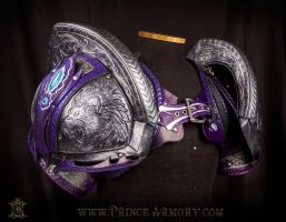 Ceremonial Wedding Armor - Lion Pauldrons by Azmal