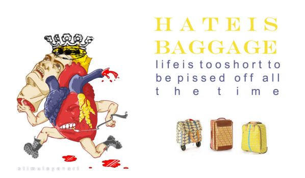 Hate is Baggage by rubeuswagner