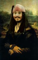 Jack Sparrow Mona Lisa by ridgl