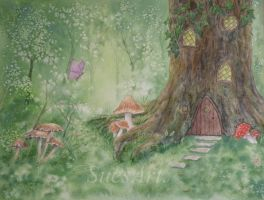 Home Tree Home by SueMArt