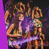 Selena Gomez Blend by MoonLightEditionss