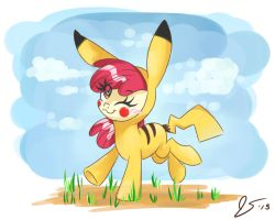 PikaBloom by DreamscapeValley