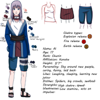 Ai reference sheet by Airusa-Chan