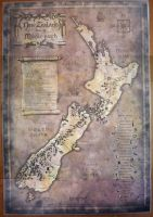 New Zealand, Tolkien Style by ErinPtah