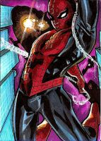 Spiderman Sketch Card 2 by Sigint