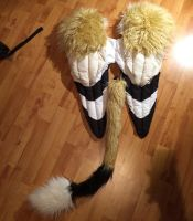 Gryphon tail and wings set! by GalaxxyPaw