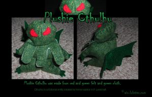 Plushie Chtulhu Owns You by airlobster