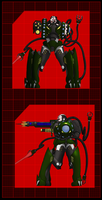 Immortal Empire Cyborg Soldier Level 3 by 0verlordofyou