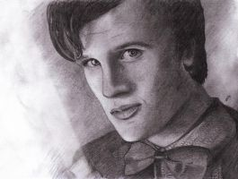 Matt Smith - Doctor Who by Naomeart