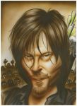 Daryl Dixon Caricature by rkw0021