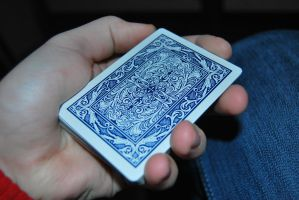 Maverick Blue - Playing Cards by cal3star
