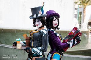 Mad Moxxi - Back to Back by Enasni-V