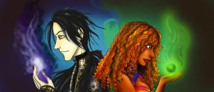 Cosmos Song Webcomic Tapastic Cover Banner by Peipei22