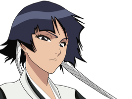 Soi Fon colored Animation by gamemaster8910