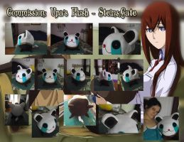 Upa's Plush from Steins Gate by ayumicosplay