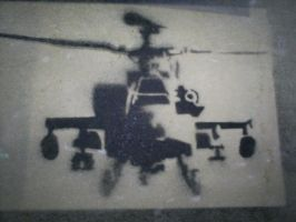 Helicopter Stencil by RAK11