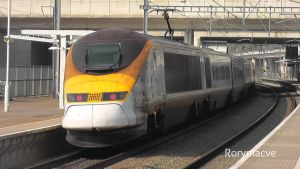 Eurostar 373019 at Ebbsfleet International by The-Transport-Guild